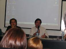 En la FLACSO, durante la Conferencia del Ministro de Educación Sileoni