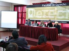 Exposición en la Facultad de Derecho de Lomas de Zamora