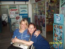 Provincia de Chaco. Con la Profesora de Educación Especial Alba Lía Gonzalez
