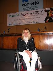 Consejo Profesional de Ciencias Económicas. Congreso TELEWORK 2010