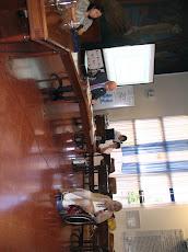 Tigre. Con Saúl Macycksyn y Cristina Mardonez, durante el transcurso de la Jornada