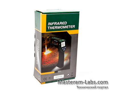 Инфракрасный пирометр MASTECH MS6530
