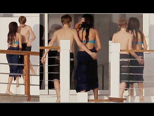 Selena Gomez e Justin Bieber são fotografados em hotel