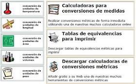 OTRAS CONVERSIONES DE MEDIDAS