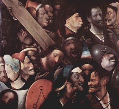 cristo carregando a cruz_hieronymus bosch_1490