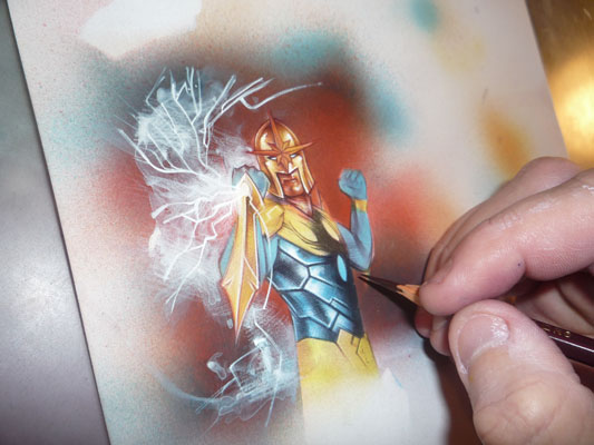 Nova Original Art by Jeff Lafferty