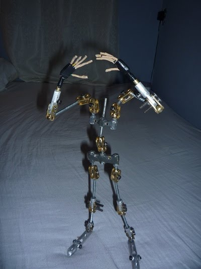 Ball and socket armature by Jeff Lafferty