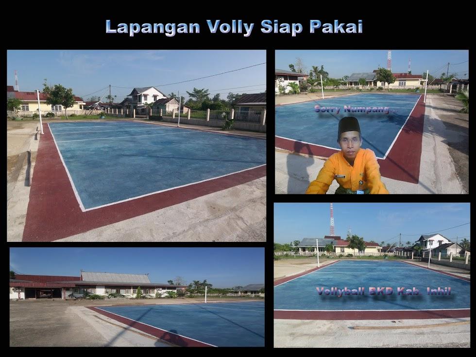 Lapangan Volly BKD Kab. Inhil