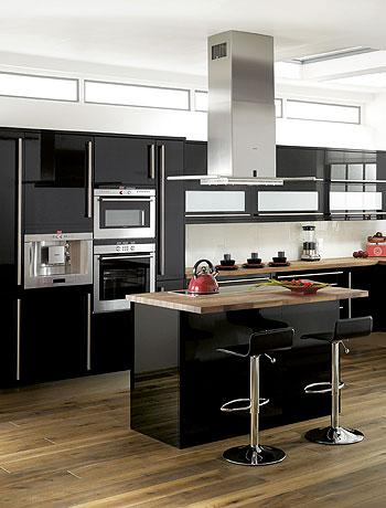 Cocinas negras antioquia interiorismo blog - Cocinas negras ...