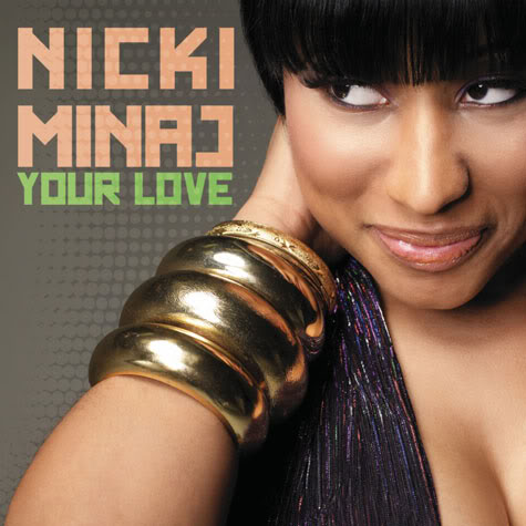 Nicki Minaj Jumper on Nicki Minaj Your Love Cover