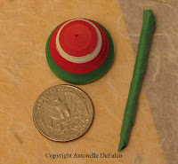 quilled 3d spinning top