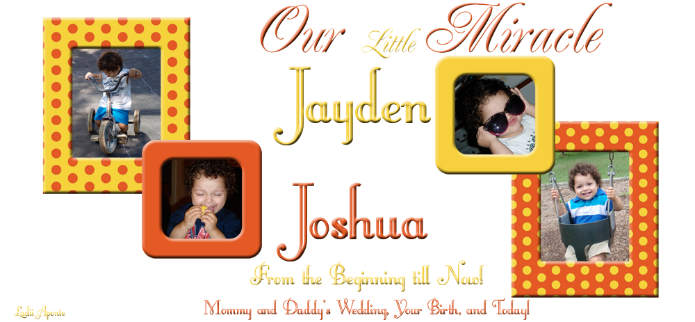 Our Little Miracle-Jayden Joshua