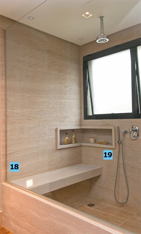 Construção dos Sonhos Banheiros -> Banheiro Cm Nicho