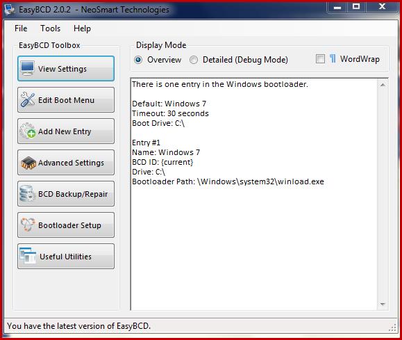 easybcd for windows xp