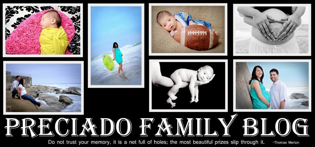 Preciado Family Blog