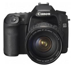 The new Canon EOS 50D Digital SLR