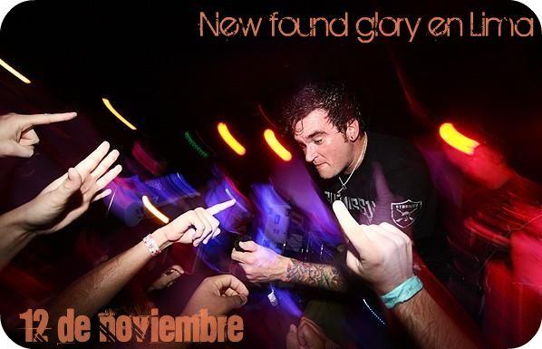 New Found Glory En Lima