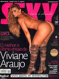 Revista Sexy - 2009-02 - Viviane Araújo - [Fotos Digitais + Exclusivo]