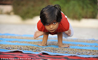 Shruti Pandey - World's Youngest Yoga Teacher In India