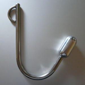 The anal plug hook