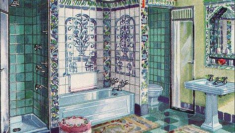Moderna mujer retro agosto 2010 - Limpiar azulejos cocina para queden brillantes ...