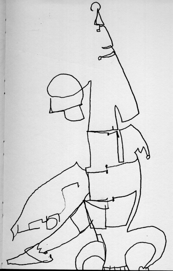 Contour Line Drawing Famous Artists : Noonan
