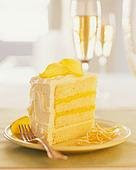 torta fria de limon