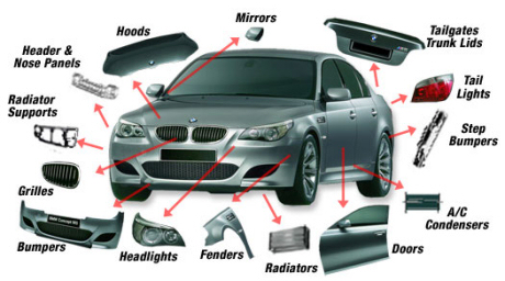 Auto Parts on The Car The Nuclear Membrane Is The Hood Of The Car The Cell Membrane