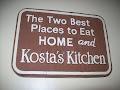 Eat at Kosta's!