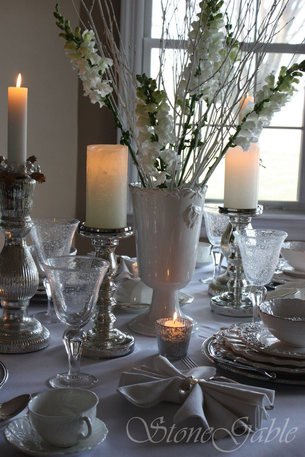 Candle Centerpieces For Home Kitchen