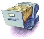 scambio file