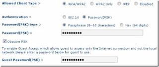 impostazioni sicurezza wifi