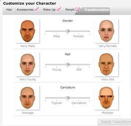 ridisegnare la faccia 3D