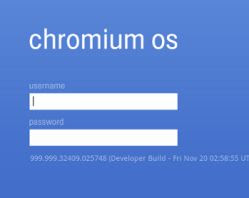 accedi a Google Chrome OS