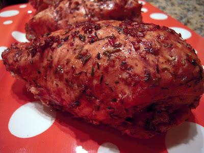 Balsamic Lemon & Rosemary Chicken