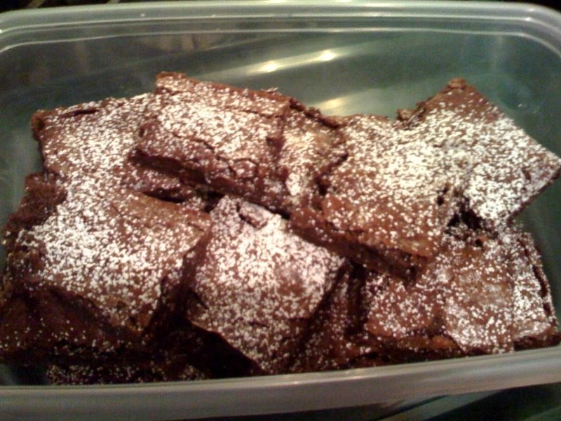 Bakers Chocolate One Bowl Brownies