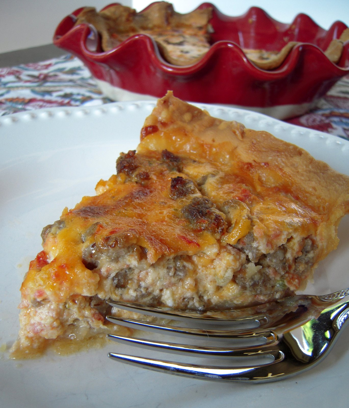 Spicy Sausage Quiche Recipes — Dishmaps