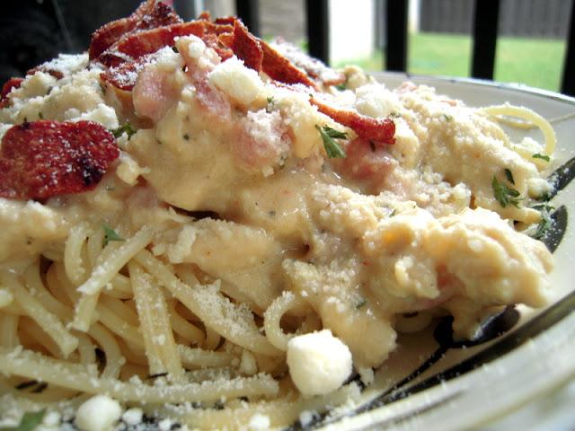 Creamy Chicken & Ham Pasta