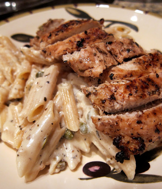 Creamy Grilled Chicken Piccata | Plain Chicken