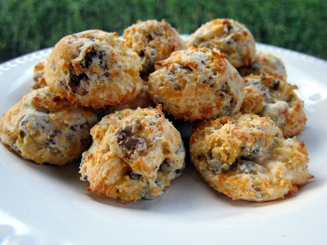 Sausage Cheese Puffs