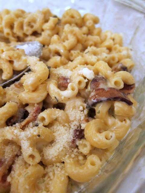 Bacon Mac & Cheese with Gruyère