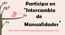 PARTICIPO EN EL BLOG INERCAMBIOS DE MANUALIDADES