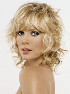medium length bangs hairstyles. 2010 Medium Layered Hairstyles with Bangs shoulder length layered hairstyle