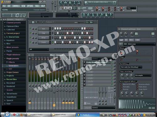 Скачать программу FL Studio 10 RUS - Бесплатная FL Studio (ранее - Frui