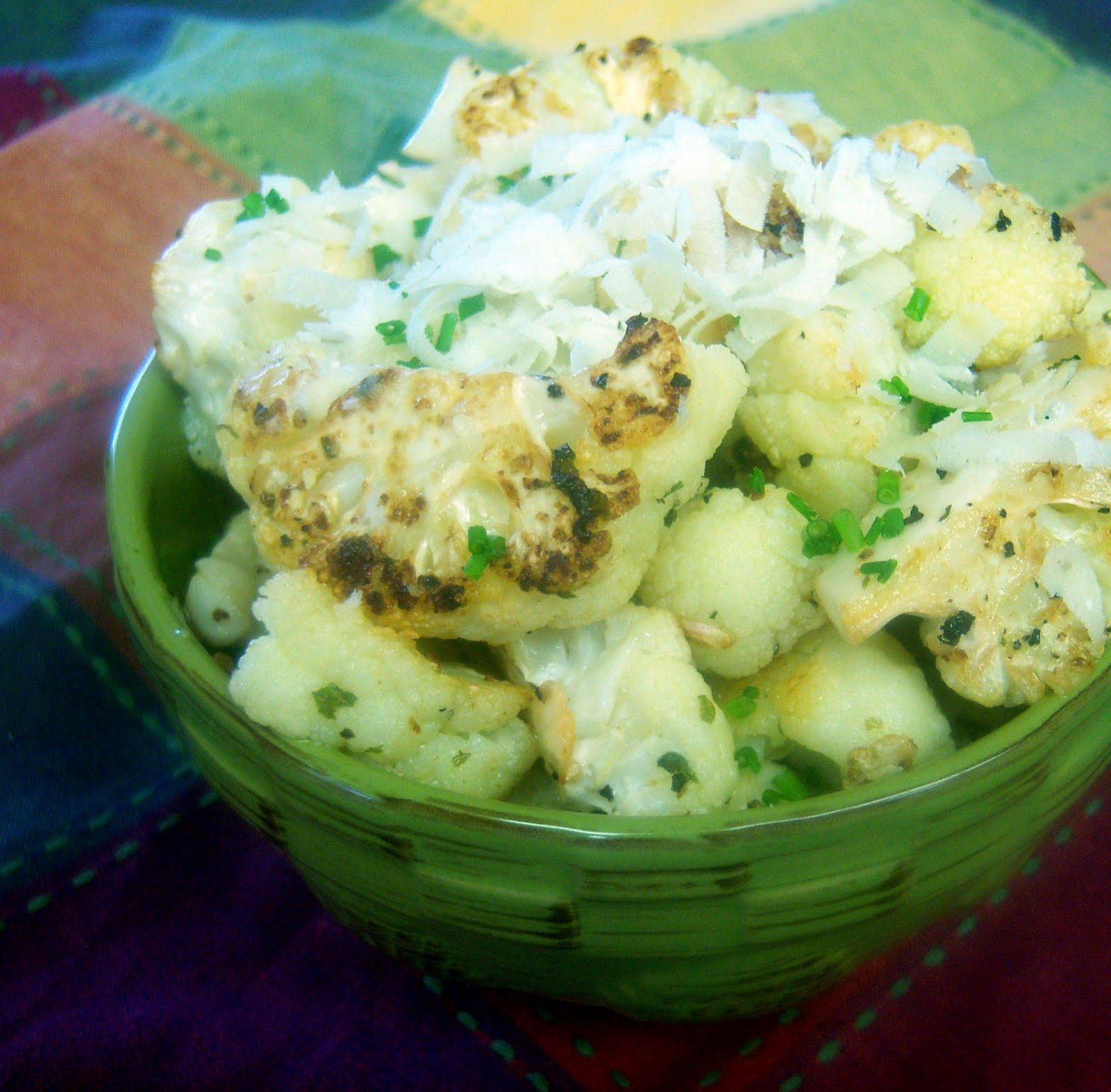 ... Cooks: Oven-Roasted Cauliflower with Garlic, Olive Oil and Lemon Juice