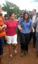 Cristina en Tartagal
