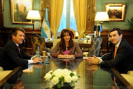 Cristina recibió al gobernador de Entre Rios y al de Corrientes