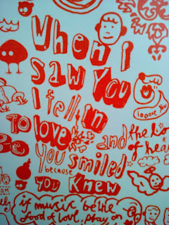 When I saw you I fell in love, you smiled because you knew
