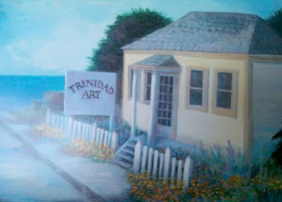 Ned's Place painting by Jim Welsh