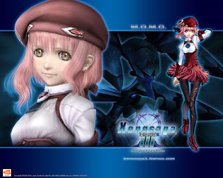 Beautiful Momo in Xenosaga Episode 3 anime ps2 game imageXenosaga Characters Momo